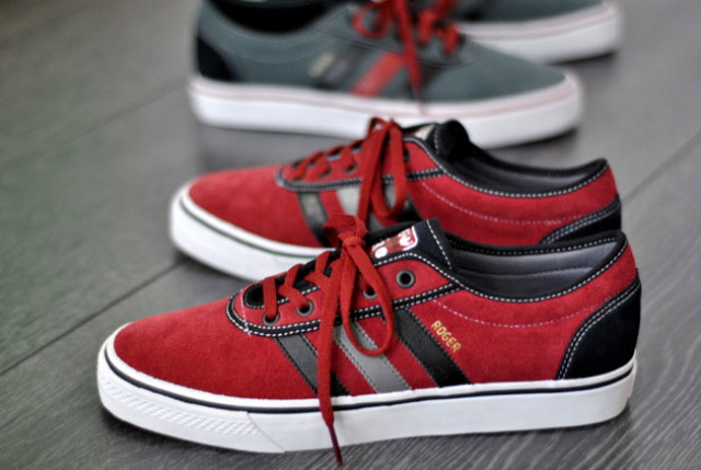 Roger Skateboards x Adidas Adi Ease Rouge/Noir