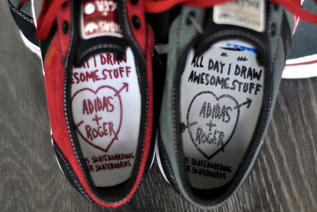 Roger x Adidas Adi Ease