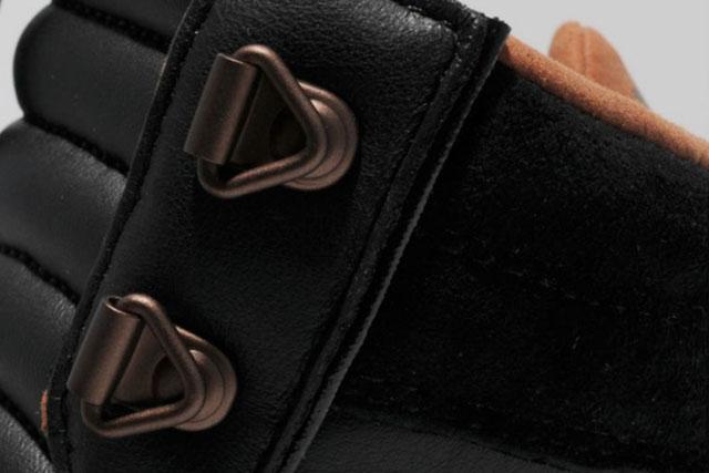 Adidas Sixtus Leather Noir (Alexandre Hoang)