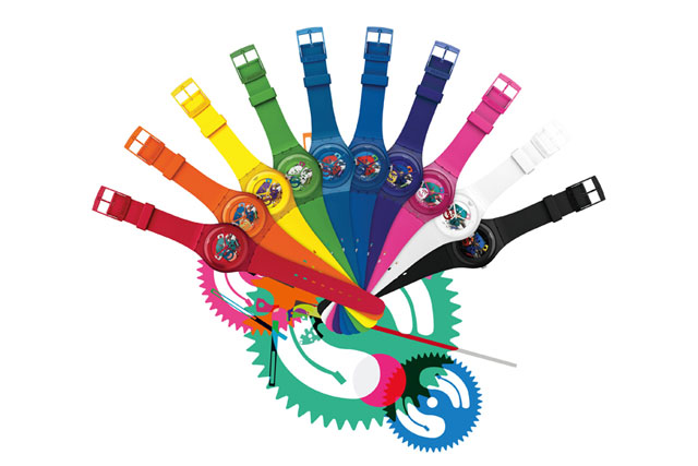 Swatch New Gent Lacquered Collection 2012