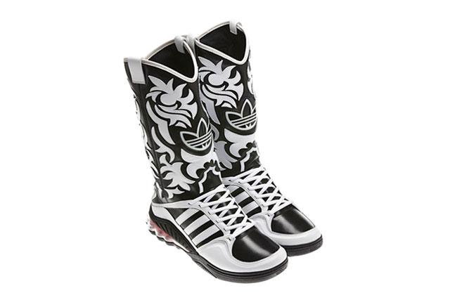 adidas Originals x Jeremy Scott JS Mega Softcell Cowboy Boots