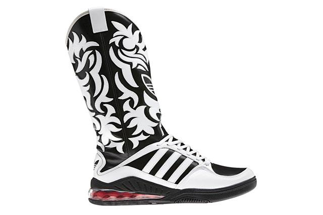 adidas x Jeremy Scott JS Mega Softcell Cowboy Boots