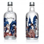 Bouteille Vodka Absolut 'London' Par Jamie Hewlett