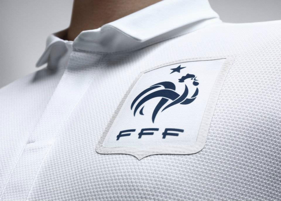 Maillot France Football Exterieur 2012 Authentic