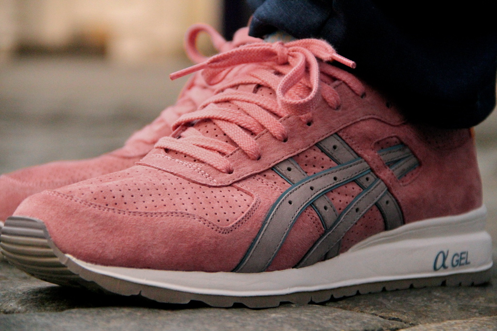 Ronnie Fieg x Asics GT-II Rose Gold