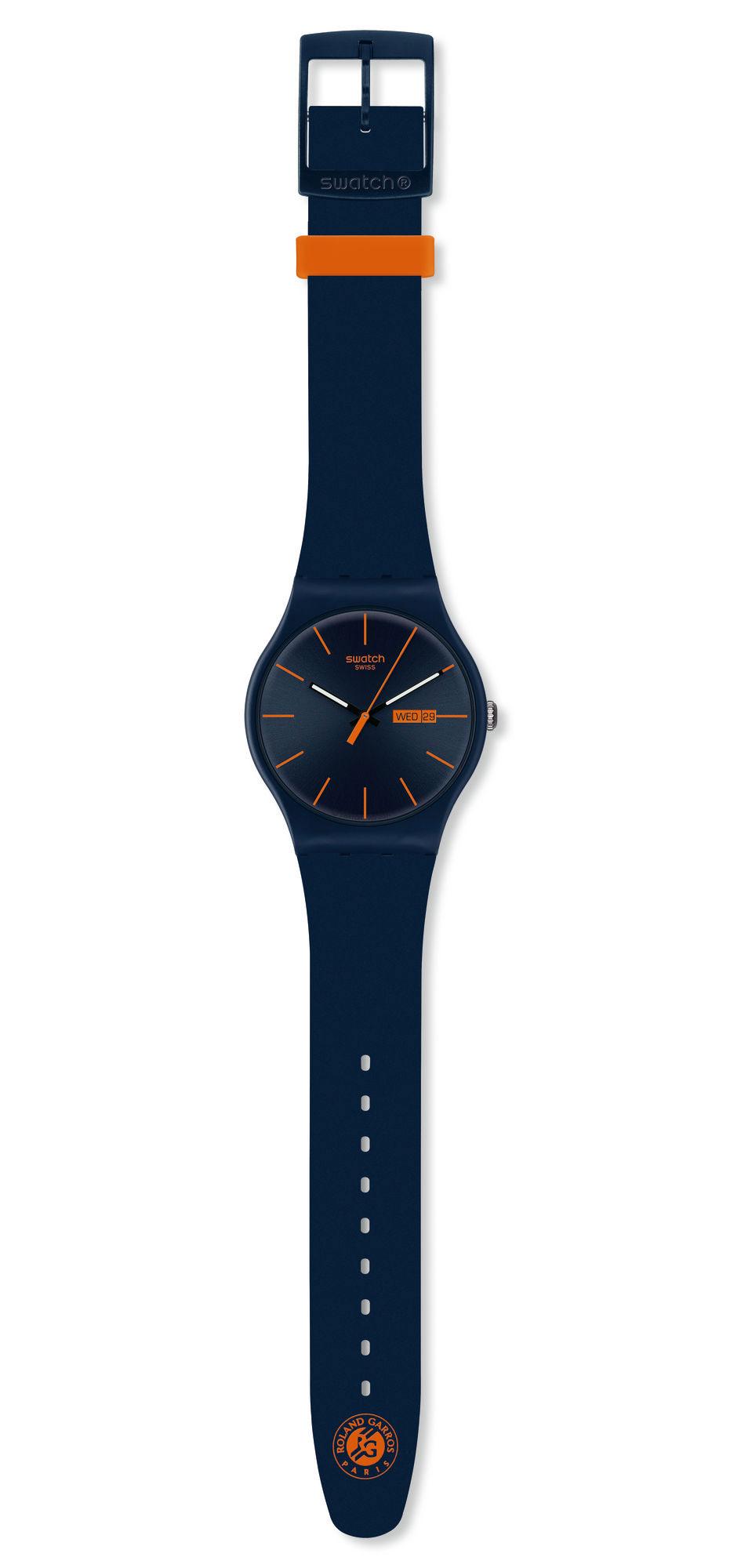Swatch New Gent x Roland Garros 2012 (Alexandre Hoang)