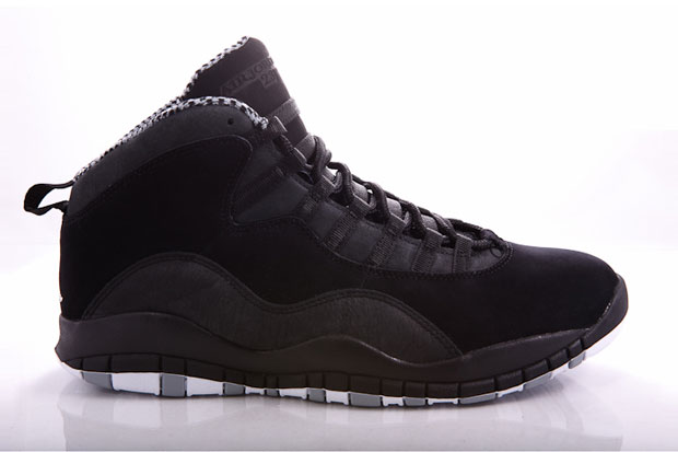 Air Jordan 10 (X) Black/Stealth White (Alexandre Hoang)