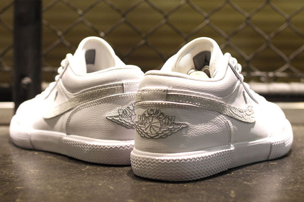 Air Jordan Retro V.1 Blanc/Gris (Alexandre Hoang)