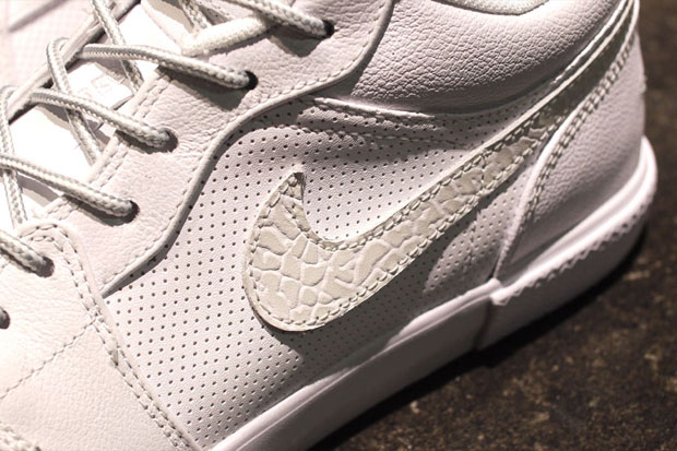 Air Jordan Retro V1 Blanc/Gris (Alexandre Hoang)