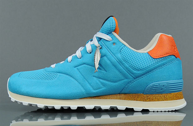 Begins x New Balance 574 Turquoise (Alexandre Hoang)
