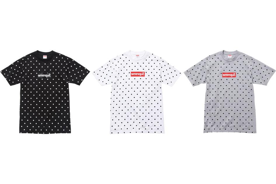 Comme des Garçon x Supreme T-Shirts (Alexandre Hoang)