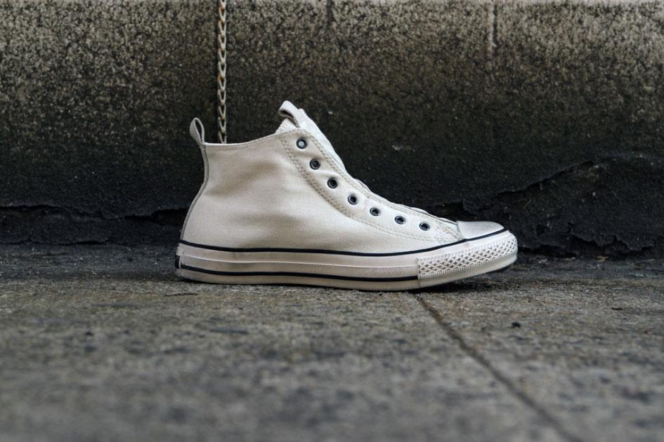 John Varvatos x Converse All Star Laceless Hi Blanc (Alexandre Hoang)