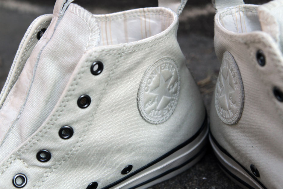 John Varvatos x Converse All Star Laceless Hi White (Alexandre Hoang)