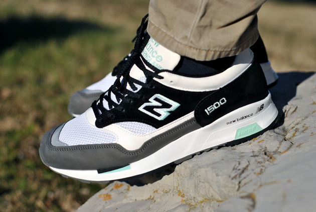 New Balance 1500–Grey Black Teal (Alexandre Hoang)