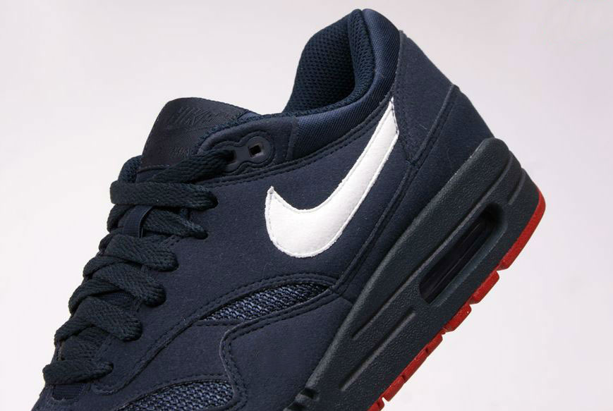 Nike Air Max 1 Obsidian/White/Red (Alexandre Hoang)