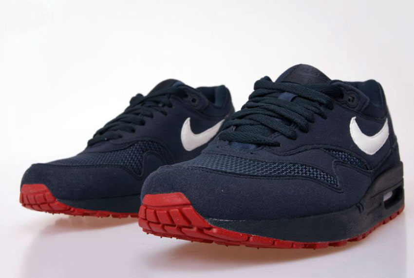 Nike Air Max 1 Obsidian/White/University Red (Alexandre Hoang)
