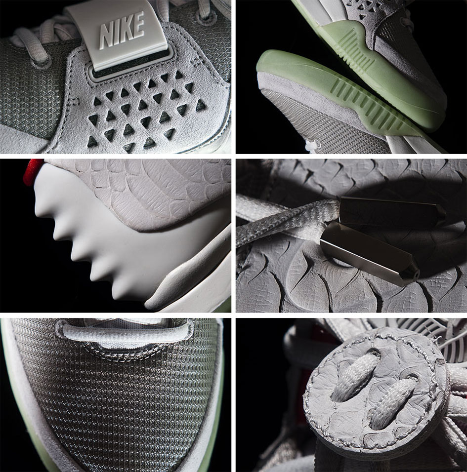 Nike Air Yeezy Wolf Grey/Pure Platinum 2012 (Alexandre Hoang)