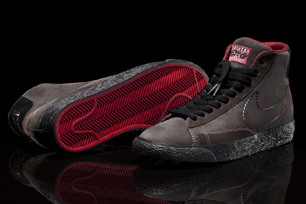 "Nike Blazer Mid Black History Month ""Midnight Fog"""