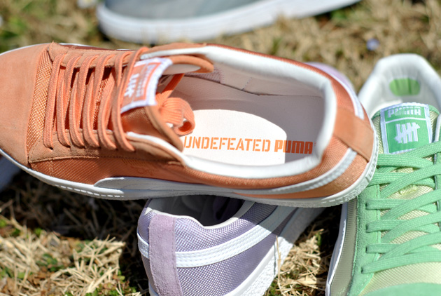 UNDFTD x Puma Clyde Orange