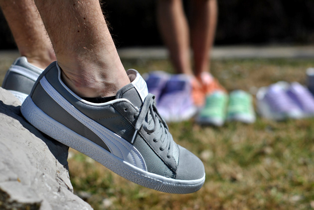 Undefeated x Puma Clyde Gris