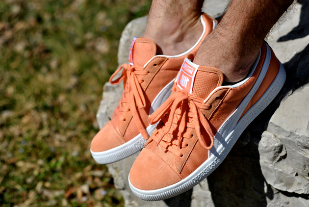 Undefeated x Puma Clyde Orange