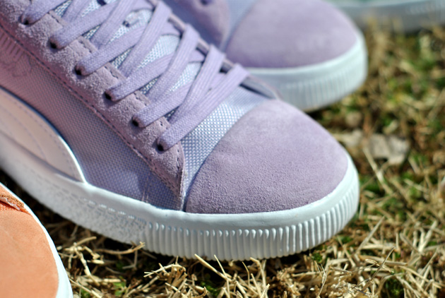 Undefeated x Puma Clyde Violet