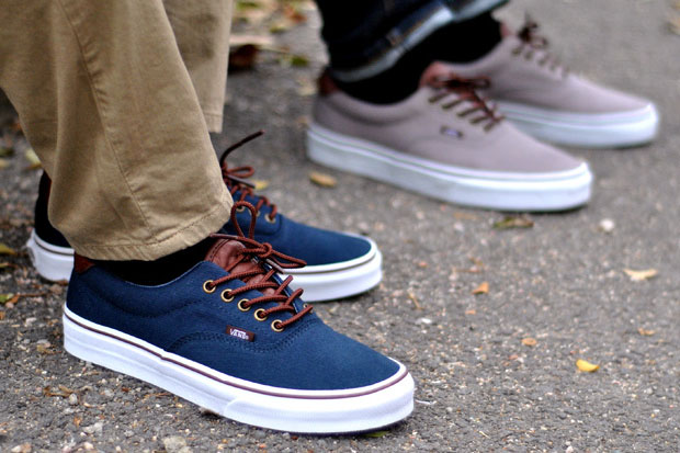 Vans Era 59 T&L Bleu/Marron - Printemps/Été 2012