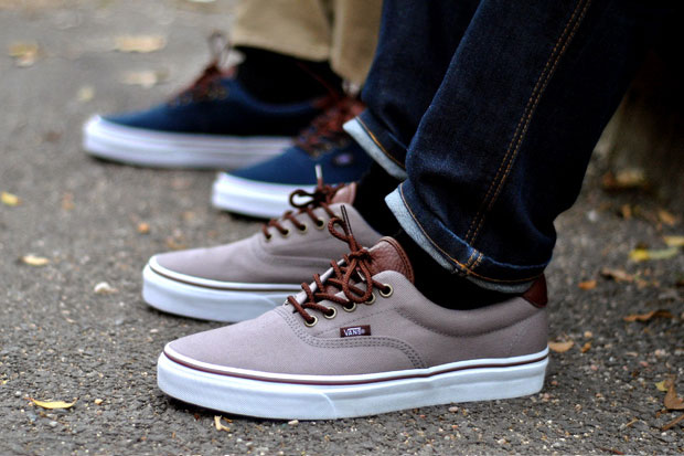 Vans Era 59 T&L Gris/Marron - Printemps/Été 2012