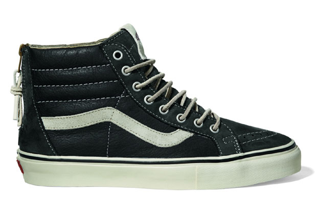 Vans Vault Sk8-Hi Zip LX Black/White - Printemps 2012