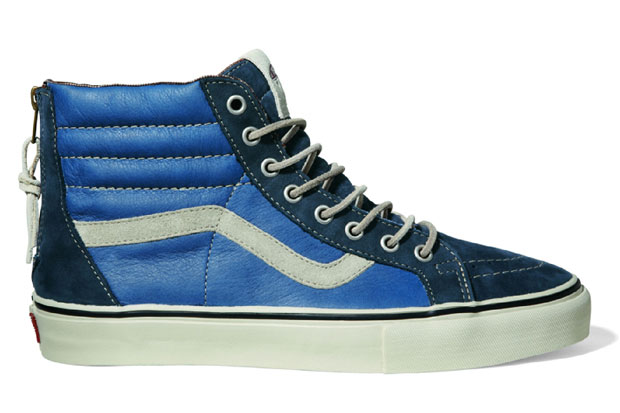 Vans Vault Sk8-Hi Zip LX Navy/Blue - Printemps 2012