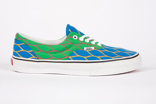 Kenzo x Vans Era Bleu/Vert (Alexandre Hoang)