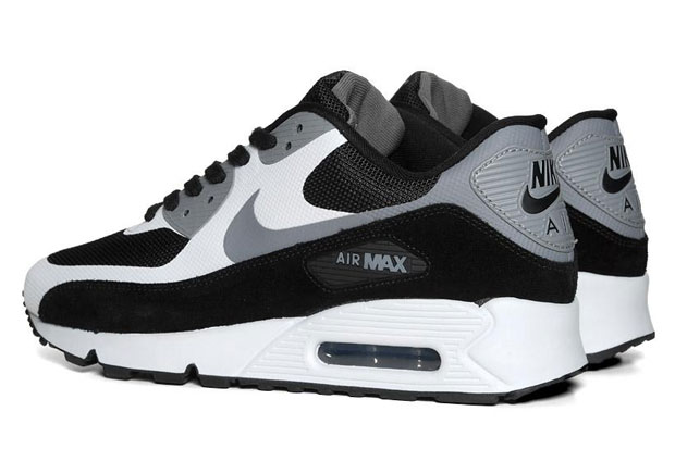 Nike Air Max 90 Premium - Black/Cool Grey-1