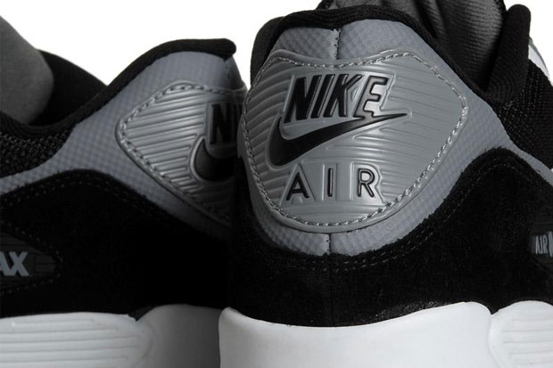 Nike Air Max 90 Premium - Black/Cool Grey-2