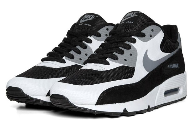 Nike Air Max 90 Premium - Black/Cool Grey