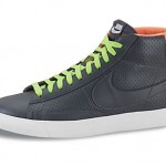 Nike Blazer Mid Dark-Grey/Lime/Orange - Printemps/Été 2012 (Alexandre Hoang)