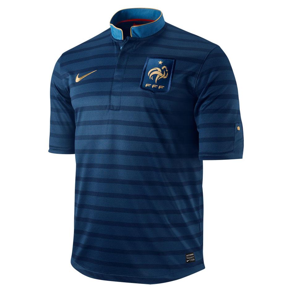 Nouveau maillot Domicile 2012 de l'Équipe de France de Football