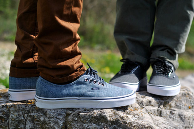 Vans Authentic Chambray Bleu - Printemps 2012 (Alexandre Hoang)