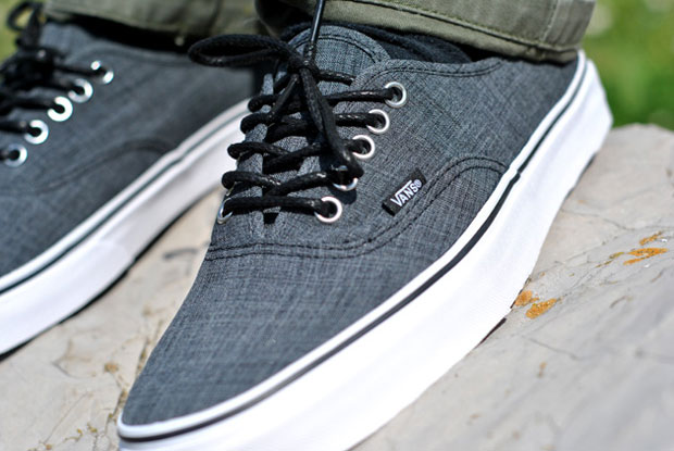 Vans Authentic Chambray Grey - Printemps 2012 (Alexandre Hoang)