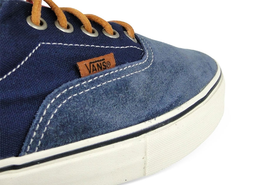 Vans Vault Era LX Blue/Red Suede/Twill Canvas (Alexandre Hoang)