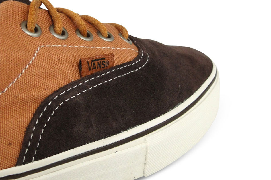 Vans Vault Era LX Brown Suede/Twill Canvas (Alexandre Hoang)