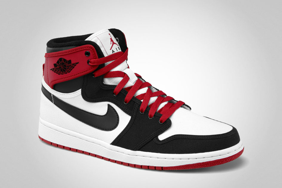 Air Jordan 1 KO - White/Black/Varsity Red-2