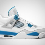 "Air Jordan 4 Retro ""Military Blue"" Retro 2012"