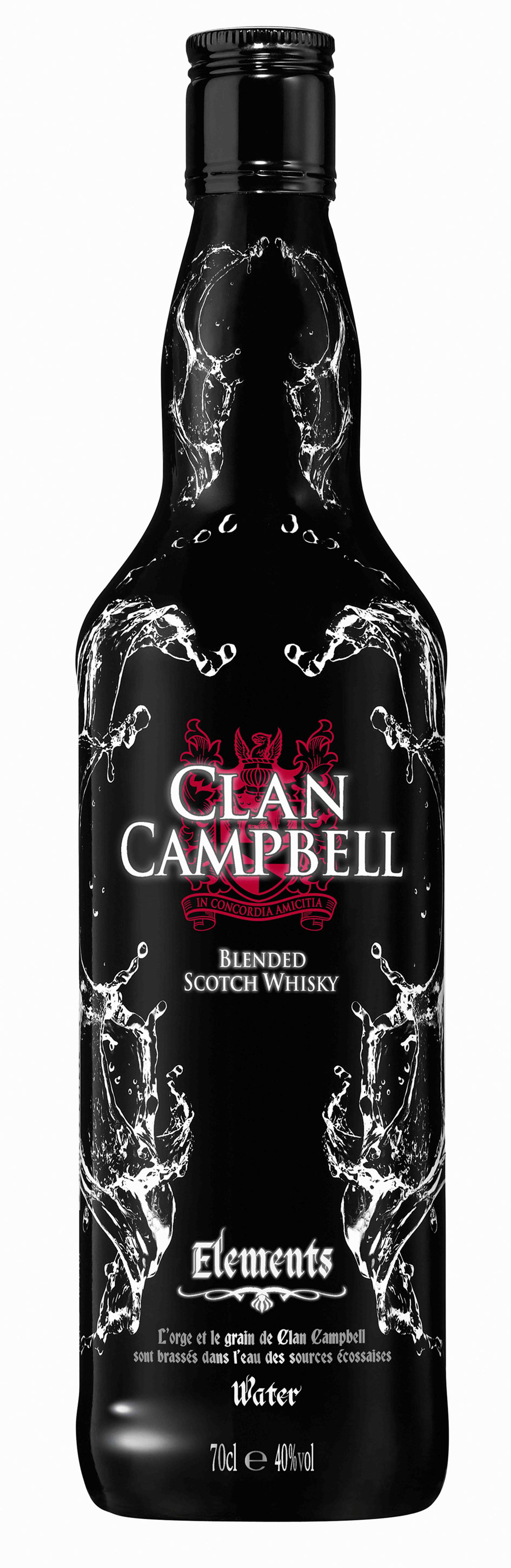 Bouteille Clan Campbell Elements Eau