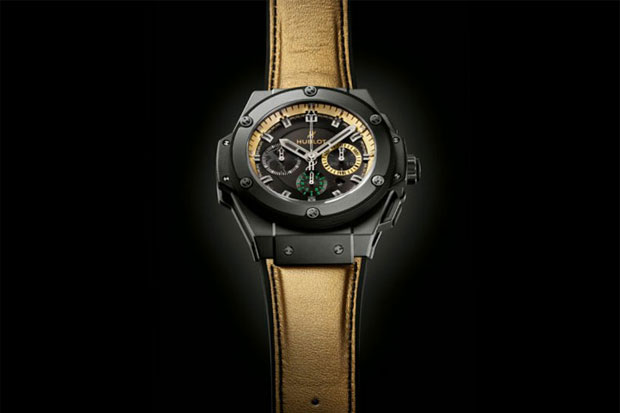 Usain Bolt x Hublot King Power Watch
