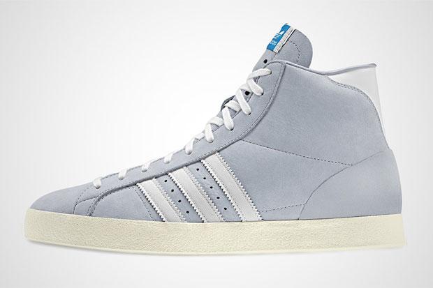 adidas Basket Profi Gris - Printemps/Ete 2012
