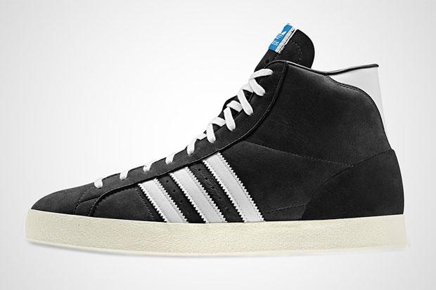 adidas Basket Profi Noir - Printemps/Ete 2012
