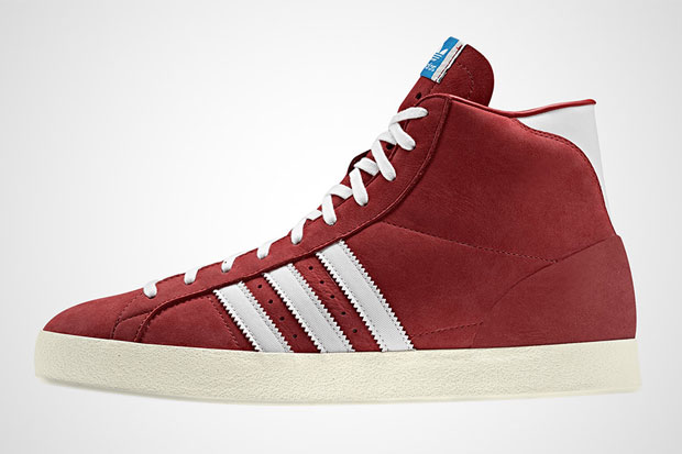 adidas Basket Profi Rouge - Printemps/Ete 2012