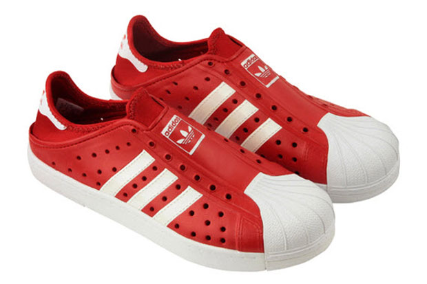 adidas Originals Beachstar Rouge/Blanc