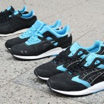 Solebox x Asics Gel Lyte III/Gel Saga/Hanover Black/Blue Pack - 10th Anniversary