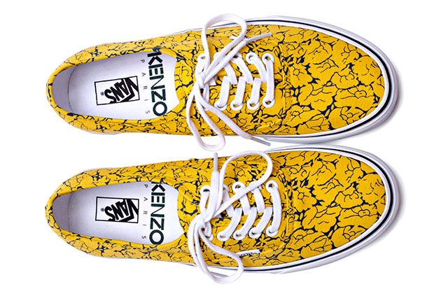 Kenzo x Vans Authentic Floral - Automne/Hiver 2012 Collection